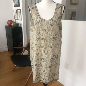 DKNY Silk Embroidered Chemise